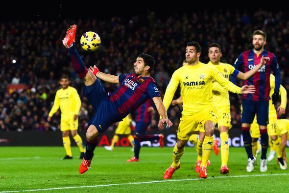 Luis Suárez no tuvo un gran partido  ante Villarreal ya que no pudo conc...