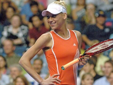 La hermosa tenista Anna Kournikova nació en Moscú el 7 de...