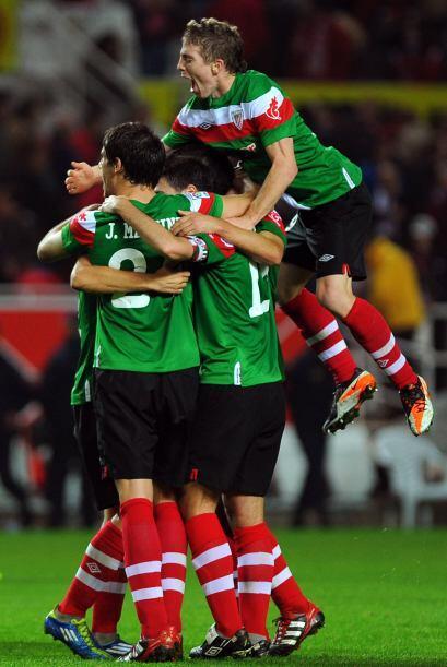 Oscar devolvió la ventaja al Bilbao a falta de 20 miutos para el final.