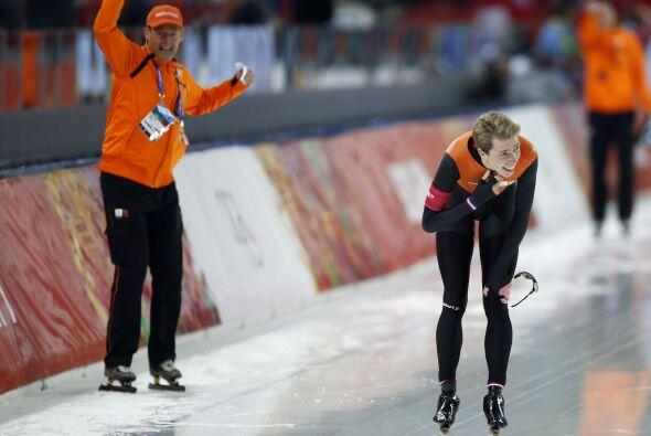 Jorrit Bergsma fijó un récord olímpico y lider&oacu...