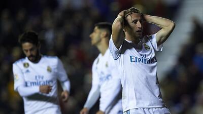 En Fotos: El Real Madrid toca fondo tras empate de último minuto en casa del Levante