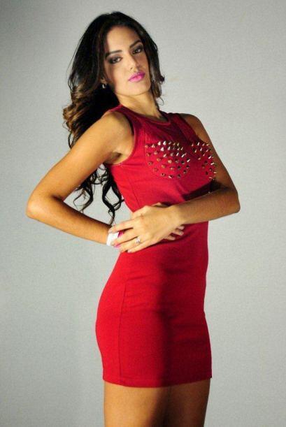 Ella es Tershya Soto de 20 años.