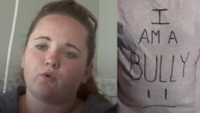 Por hacer 'bullying', mamá envía a su hijo con camiseta de castigo a la escuela