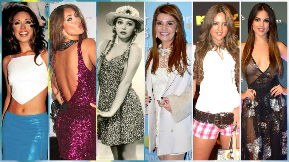 La transformación de las actrices de telenovela a través del tiempo