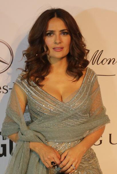 Salma Hayek este año se encuentra nominada como Actriz Que Se Roba la Pa...