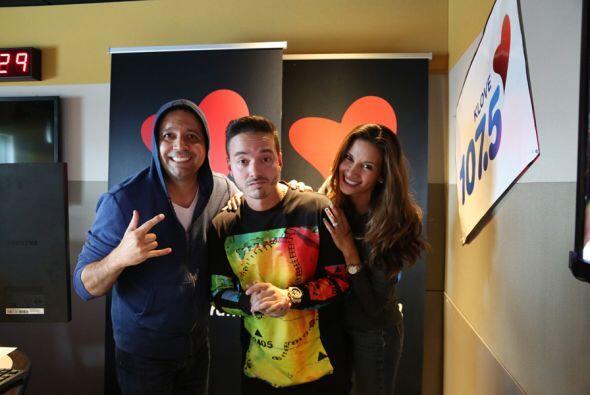J Balvin con Omar y Argelia