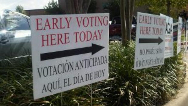 Durante este período puedes votar en cualquiera de las mesas electorales.