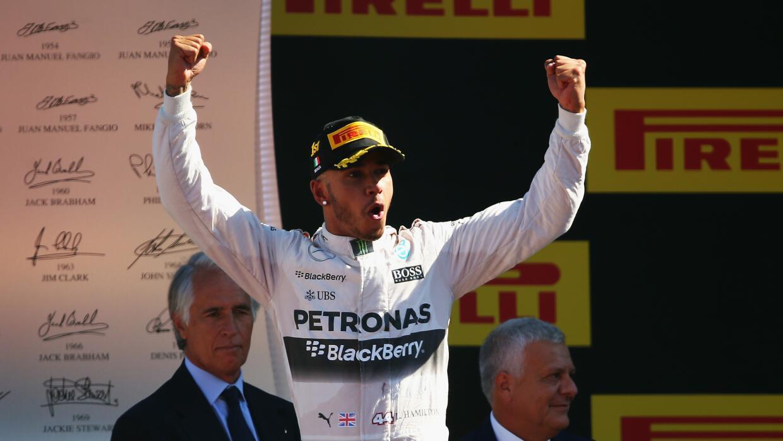 El piloto británico es líder de la Formula 1