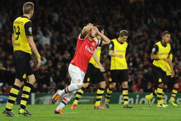 Arsenal intentó reaccionar en esos minutos finales, pero su esfuerzo no...