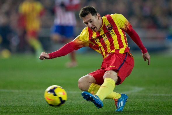 Messi, que regresaba de su lesión, tuvo las mejores ocasiones del Barcel...