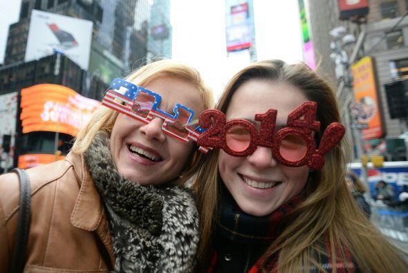Nueva York se alista para celebrar el Año Nuevo 2014 en el Times Square.