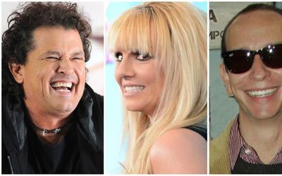 Carlos Vives, britney Spears y Erik Rubín necesitan que sus amigo...