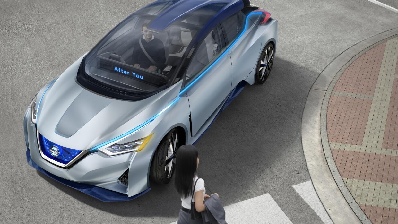 Nissan IDS Concept de conducción autónoma