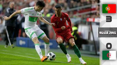 Portugal se reencuentra con el gol en la última prueba antes del debut en el Mundial