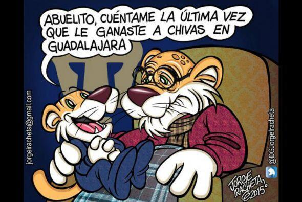 Los aficionados atacaron con todo al América, Pumas y las Chivas en las...