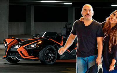 mayeli regaló a lupillo auto de 30,000 dólares