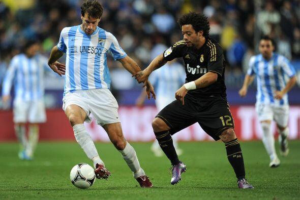 El Málaga intentó ir por el gol de la clasificación.