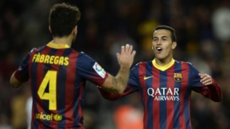 Pedro lamentó las críticas a Cesc de la afición blaugrana.
