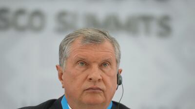 Igor Sechin.