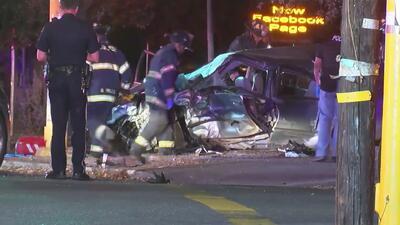 Menores en auto robado causan fatal accidente