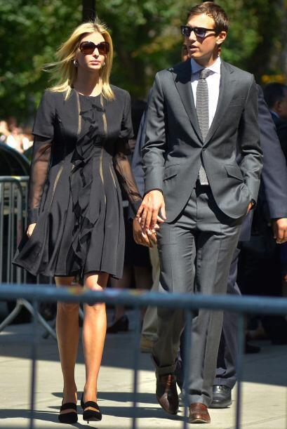 Ivanka Trump y su marido Jared Kushner.