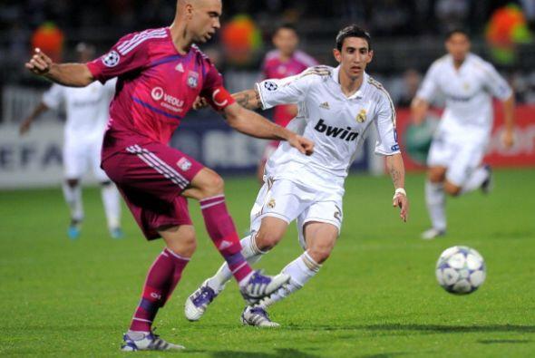 Angel Di María volvió a ser desequilibrante en ataque pero falló en dos...