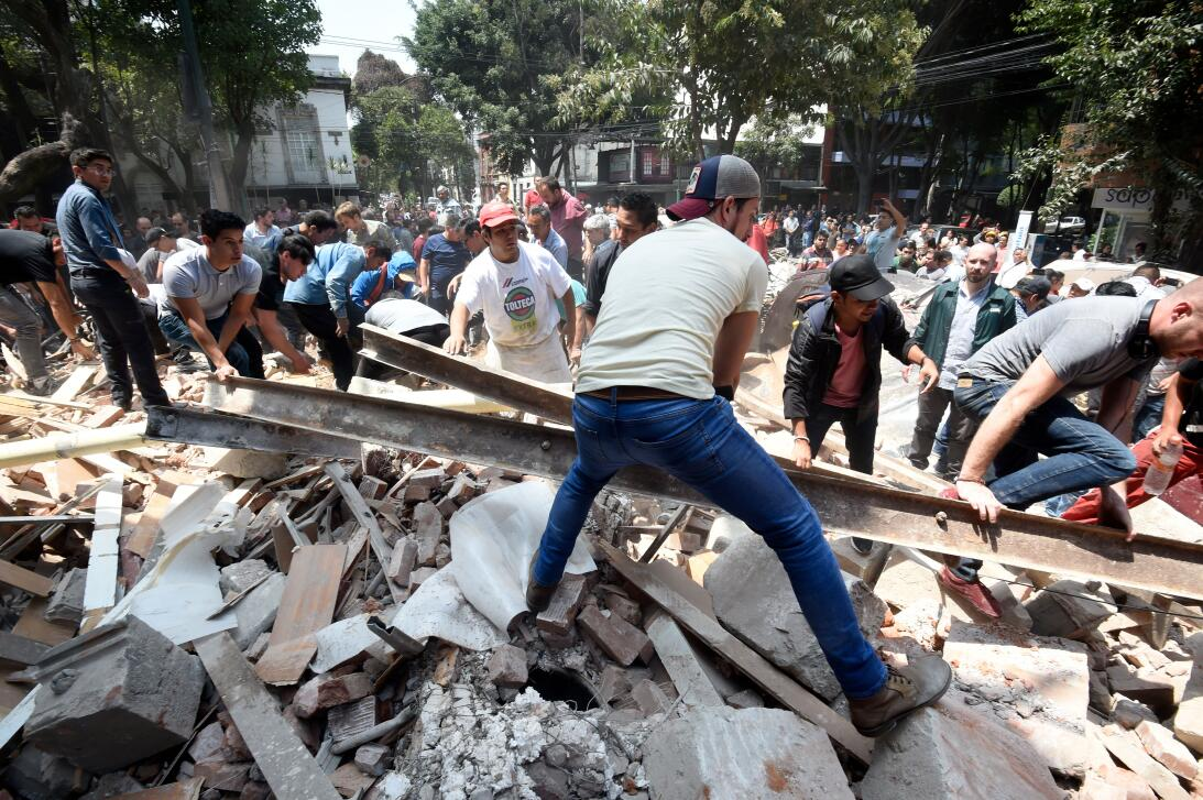 El Servicio Sismológico Nacional en México registró un fuerte sismo en l...