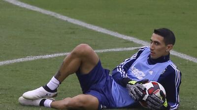 Así se ve la selección de Argentina sin Messi contra Perú