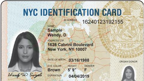 De acuerdo con autoridades, la tarjeta de identificación de Chicago será...
