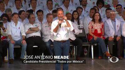 Meade asegura que el PRI va a ganar la elección del 1 de julio