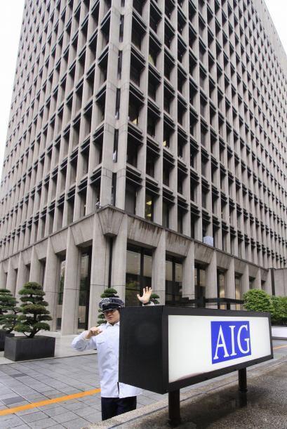 """AIG """" La aseguradora se ha visto en una serie de escándalos con el gobie..."""