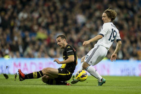 Pese a las tantas críticas que tuvo su fichaje, Modric va haciéndose de...