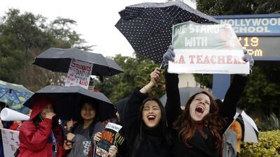 Este miércoles 23 de enero se reactivan las clases en Los Ángeles