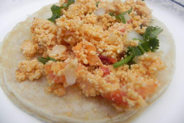 4. Tacos de huevito con chile