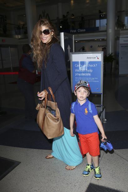 Recientemente los vimos llegando al aeropuerto de la ciudad de Los Ángeles.