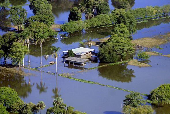 Pero no solo los huracanes han traído devastadores efectos. Las lluvias...