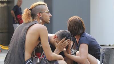En fotos: El brutal ataque terrorista en la Rambla de Barcelona