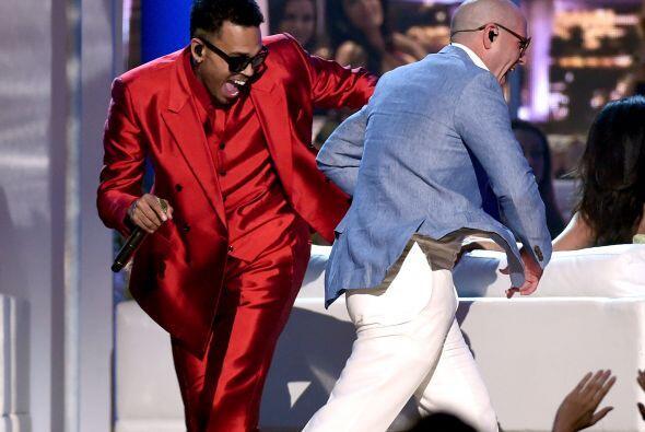 El baile estuvo al máximo. No cabe duda, este dueto es de lo mejor.