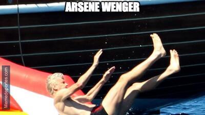 El adiós de Wenger del Arsenal no se salvó de los divertidos memes