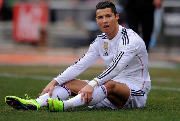 Cristiano Ronaldo no daba crédito de lo que estaba ocurriendo en el Vice...