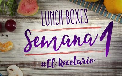 Regreso a clases: diviértete preparando lunch boxes (Semana 1)
