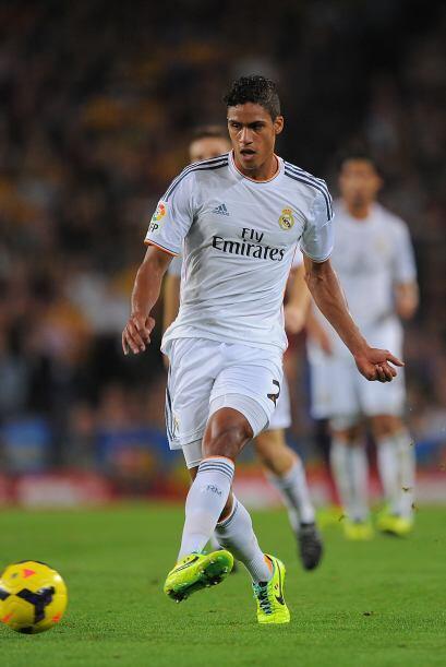 En su tercera temporada con Real Madrid, el francés Raphael Varane podrí...