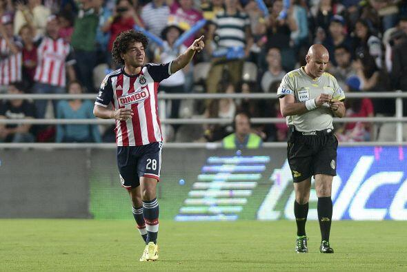 Jugó 63 minutos, metió su gol al minuto 15, tiró tres veces a gol recibi...
