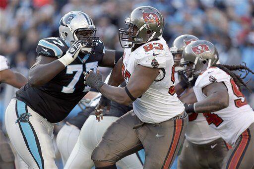 Gerald McCoy, tackle defensivo de los Tampa Bay Buccaneers (AP-NFL).