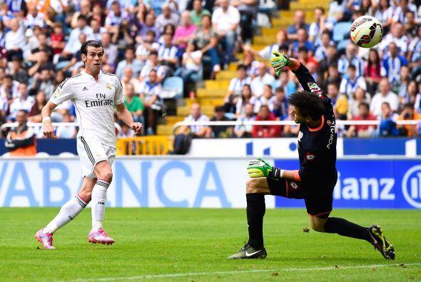 Luego del doblete de Ronaldo al inicio del complemento, Gareth Bale no s...