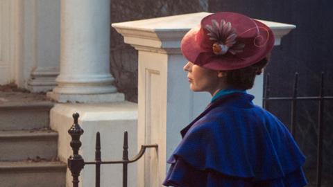 Emily Blunt es Mary Poppins en el próximo filme de Disney.