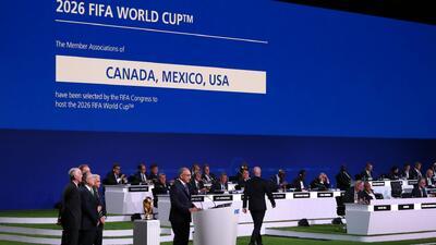 Estados Unidos, México y Canadá serán la sede del Mundial de Fútbol 2026
