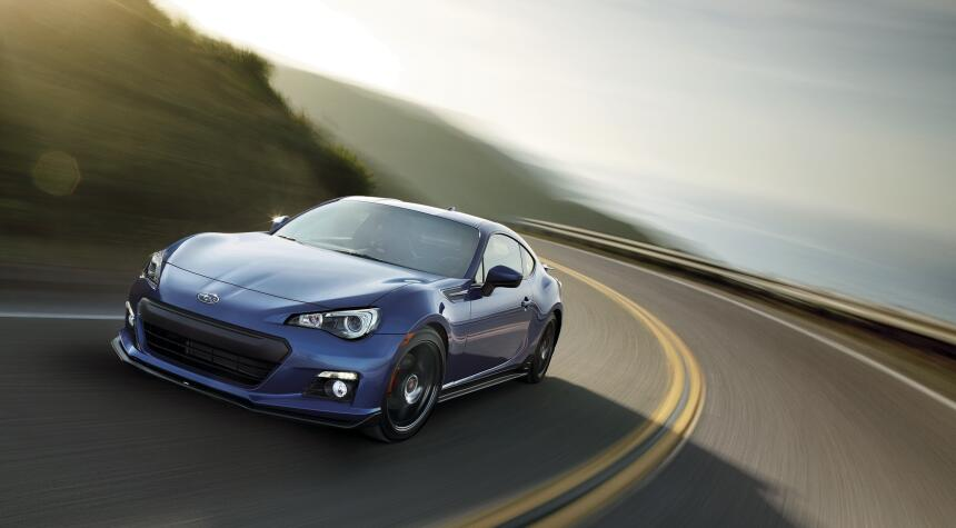Subaru BRZ Blue Series 2015