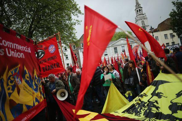Inglaterra también celebró el 'May Day'.