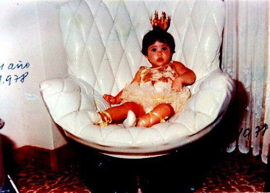 Desde bebé Shaki ya era una estrella.